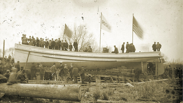 Wood Shavings to Hot Sparks: Milford's Shipbuilding History