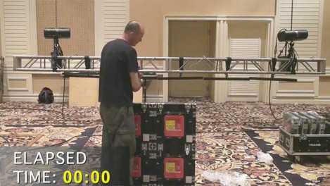 Trans-Lux LED Display Assembly Time Lapse