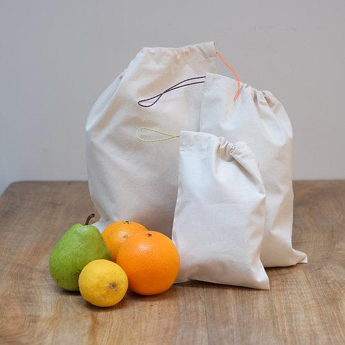 Baumwollstoffsäckli EcoGrischun