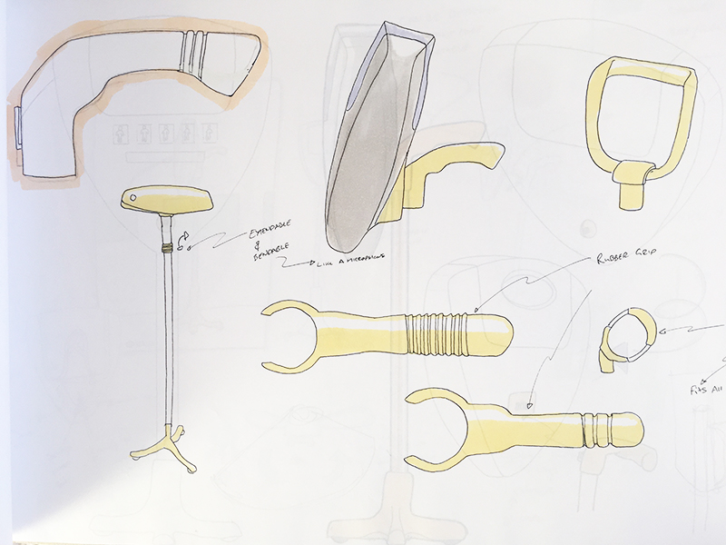 Handle and stand iterations