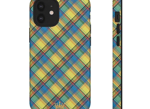 Buck Island Madras Phone Case
