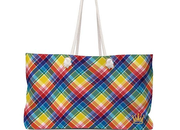 V.I.Madras Travel Bag