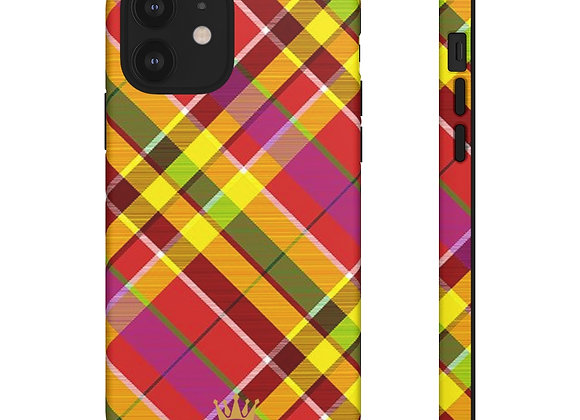 Madras Phone Case - Sorrel