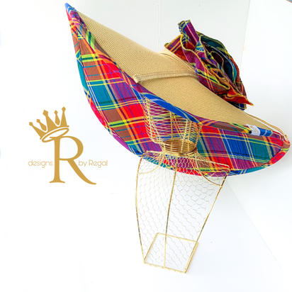 Royal Straw Deluxe Hat