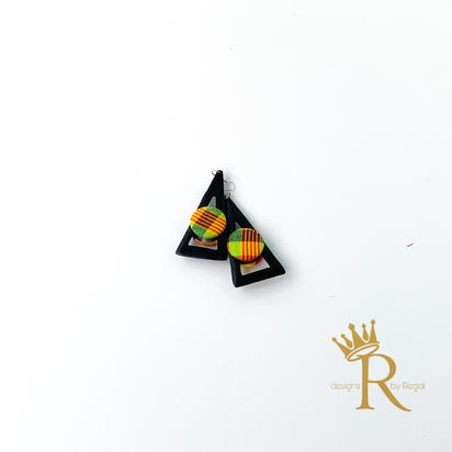 Bermuda Triangle Carib Earrings
