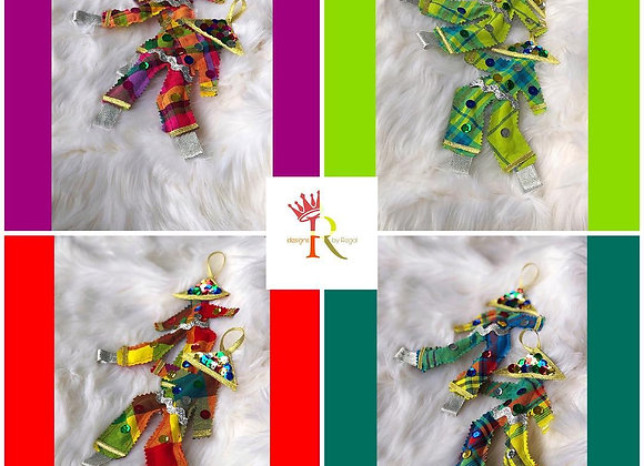 Regal Moko Jumbie Ornamental Keepsakes