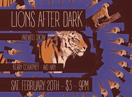 WD-HAN Plays Lions After Dark Farewell Show with Kerry Courtney