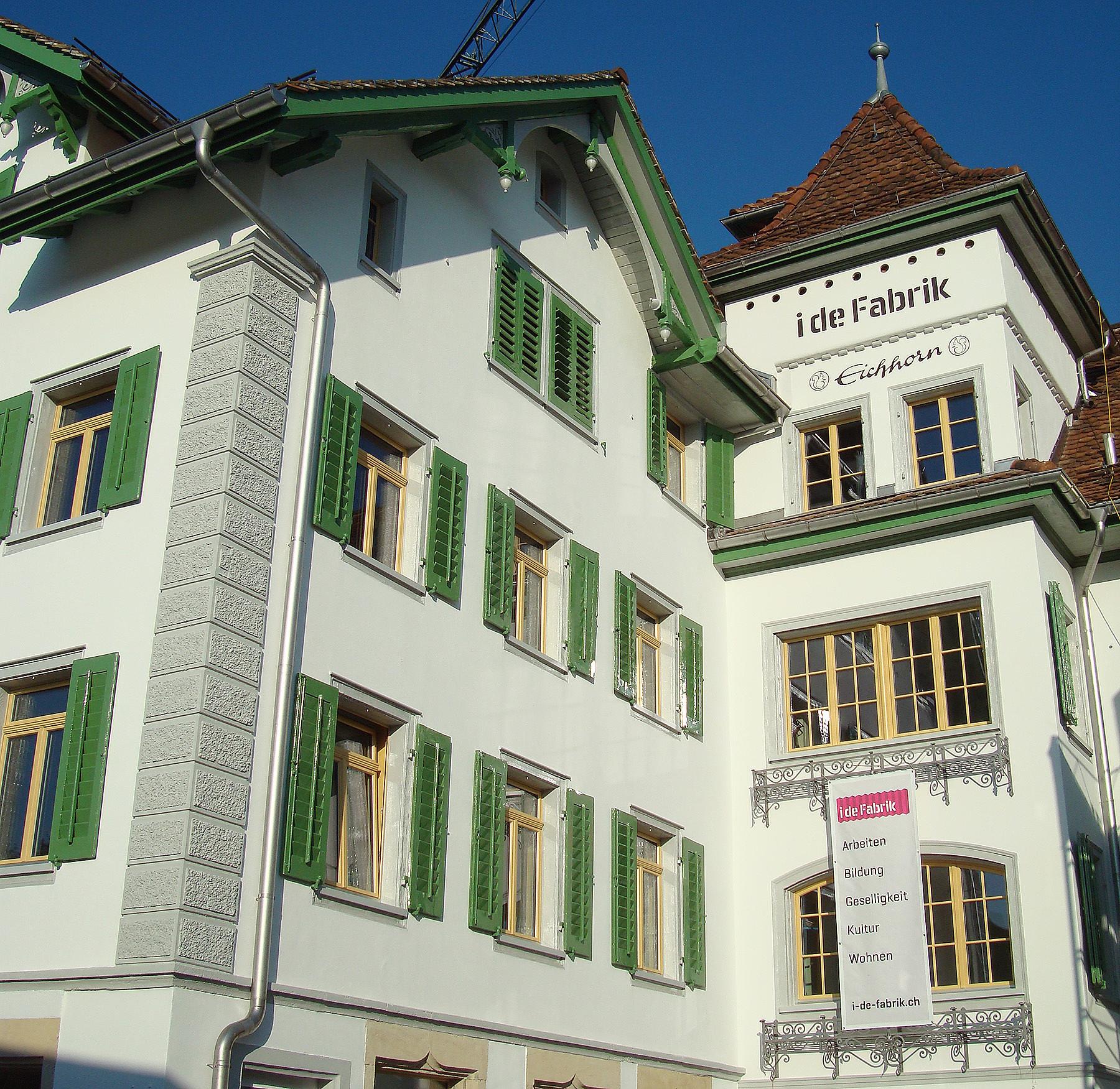 i de Fabrik, Schwyz