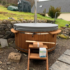 Wood burning hot tub by Penguin Spas Outdoor Living Ireland delivery 7.JPG
