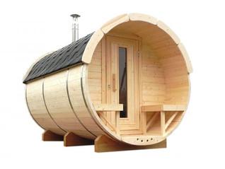 BaltoScandia Sauna Barrel available from Penguin Spas Outdoor Living.jpg