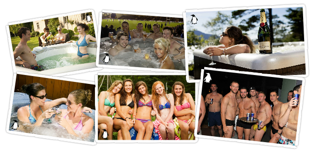 Hot Tub Hire for party from Hot Tub Hire Edinburgh
