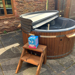 Wood burning hot tub by Penguin Spas Outdoor Living Scotland with Jets 3.JPG