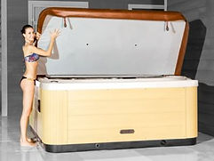 Energy Saving Nordic Hot Tub Spa Cover by Penguin Hot Tubs and Swim Spas