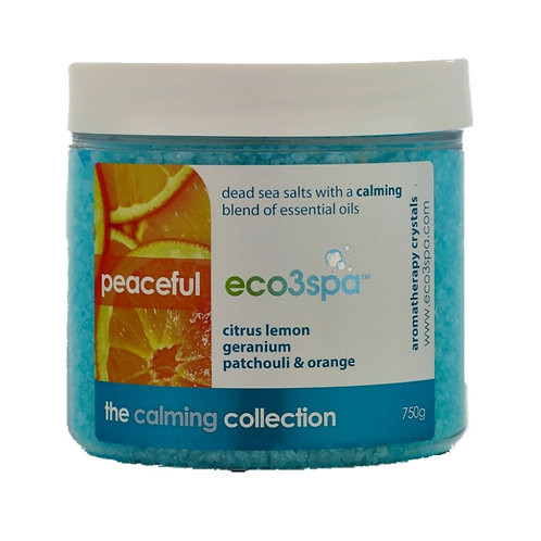 eco3spa Natural Aromatherapy – Peaceful 750g