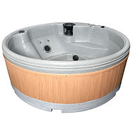Quatro Spa 6 Persons Hot Tub Hire from only £51 per day by Penguin Hot Tub Hire