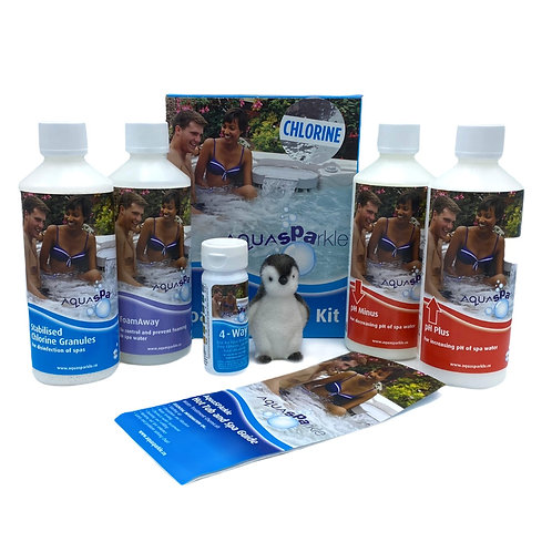 Chlorine – AquaSPArkle Spa Starter Kit