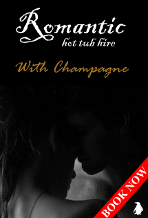 Romantic Hot Tub Hire with Champagne from Hot Tub Hire Edinburgh