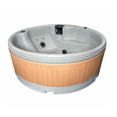 Solid portable Hot Tub Hire delivered to your holiday lodge