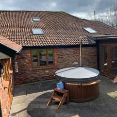 Wood burning hot tub by Penguin Spas Outdoor Living Scotland for sale 4.JPG