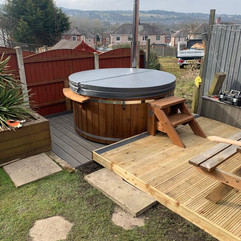 Wood burning hot tub by Penguin Spas Outdoor Living Scotland delivery 5.JPG