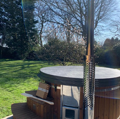 Wood fired hot tub by Penguin Spas Outdoor Living Glasgow delivery 5.JPG