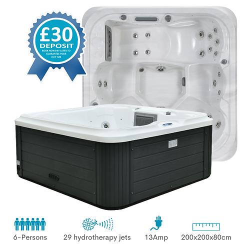 SPATEC 6 Person Hot Tub Hire Deposit UK