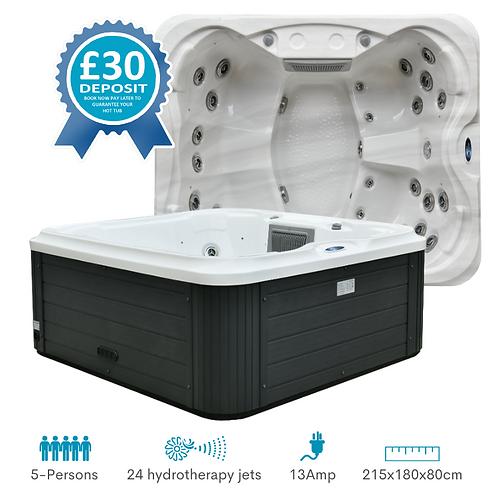 SPATEC 5 Person Hot Tub Hire Deposit UK