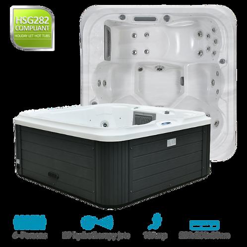 SPATEC 6 Person Hot Tub Hire UK - Minimum 28 Day Hire