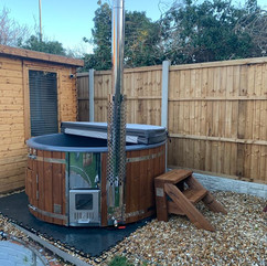 Wood fired hot tub by Penguin Spas Outdoor Living Scotland delivery 5.JPG