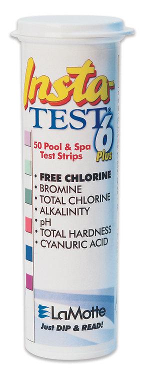 LaMotte Insta-TEST 6 Plus. 50 Pool & Spa Test Strips