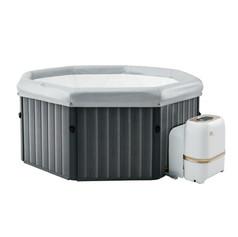 Portable Hot Tub Hire delivered to your holiday lodge