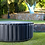 Thumbnail: MSpa Delight Silver Cloud inflatable  Hot Tub | 4 person