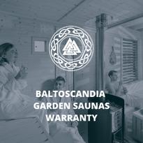 BaltoScandia Garden Saunas Warranty