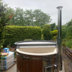 Wood fired hot tub by Penguin Spas Outdoor Living Ireland for sale 4.JPG