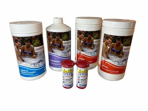 Chlorine – Large Spa Starter Kit