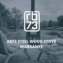 RB73 Steel Wood Stove Warranty
