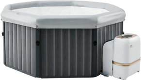 Tuscany 6 Persons Hot Tub by Penguin Hot Tub Hire