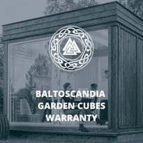 BaltoScandia Garden Cubes Warranty