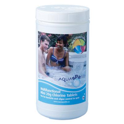 AquaSPArkle Multifunctional 20g Chlorine Tablets - 1kg