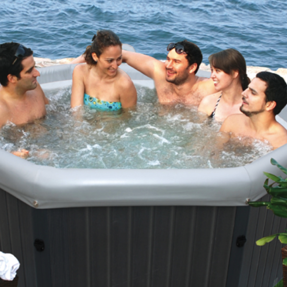 Tuscany Hot Tub Hire by Penguin Hot Tubs and Swim Spas