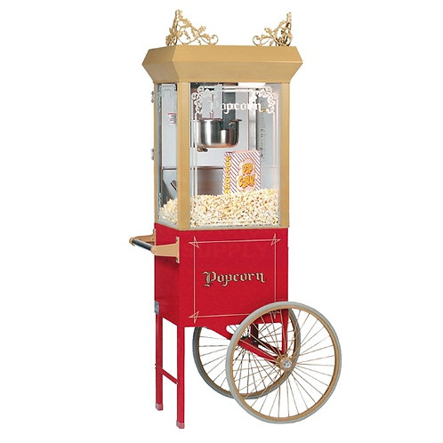 Traditional Popcorn Cart