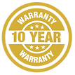 10 Year premium warranty on all hot tubs and spas