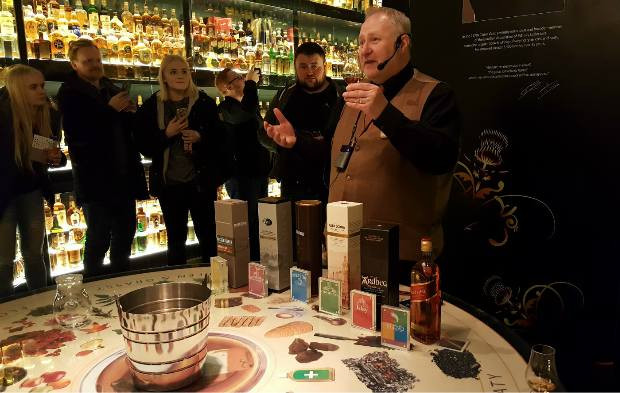 The Scotch Whisky Experience, a five-star visitor attraction is located at the top of Edinburgh's Royal Mile and has been inspiring visitors to Edinburgh about the joys of Scotch whisky for over 30 years.