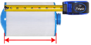 Measuring Hot Tub Filter Length written Guide by Penguin Hot Tubs