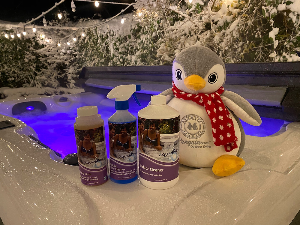 Hot Tub Winterizing Kit to help you winterise your hot tub and spa professionally