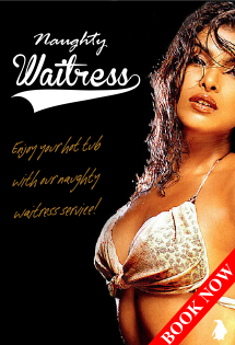 Hot Tub Hire with Naughty Waitress Service from Hot Tub Hire Edinburgh