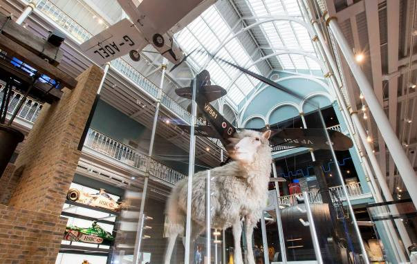 Since opening in 2011, the free National Museum of Scotland has become one of Scotland's most popular attractions, with close to two million visitors each year. It incorporates collections from a number of Edinburgh's older museums.