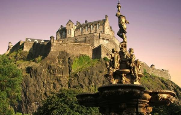 Scotland's most famous landmark, Edinburgh Castle is one of Britain's most visited tourist attractions. Highlights include the One O'clock Salute from Half Moon Battery (cannon fire commemorates the tradition of helping ships synchronize their clocks); the impressive Scottish National War Memorial; and the stunning collection of Crown Jewels housed in the Royal Palace.