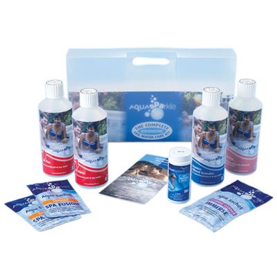 AquaSPArkle Complete Spa Starter Kit - Bromine