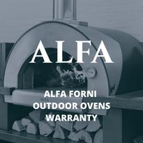Alfa Forni Outdoor Ovens Warranty